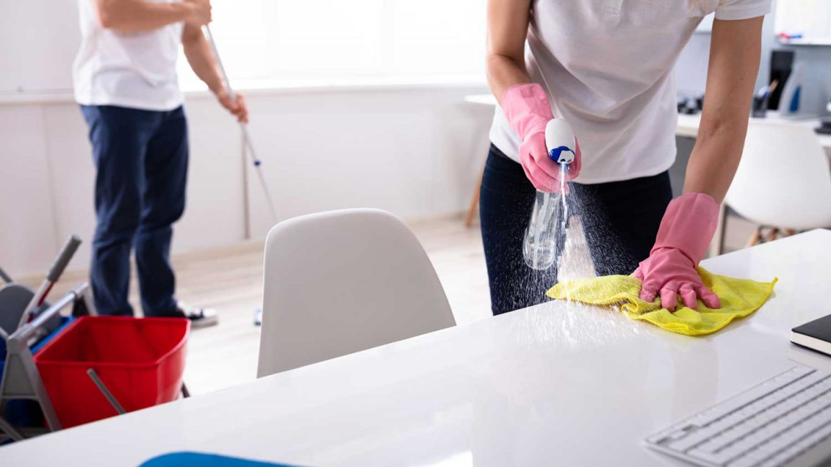 Four Reasons to Let Professional Commercial Cleaners Clean your Office